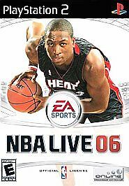 NBA Live 06 (Sony PlayStation 2, 2005)