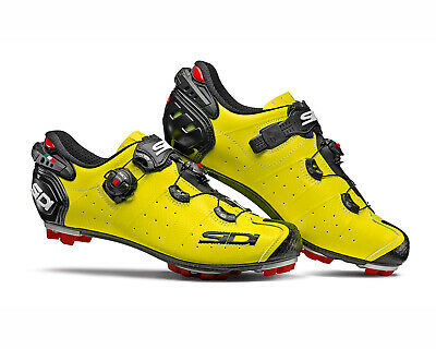 Bright Yellow Size: 40~47 EUR SIDI TIGER SRS Carbon MTB Shoes