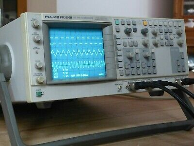 FLUKE PM3390B 200MHz Autoranging Combiscope 2 Kanal Oscilloscope Analog/Digital