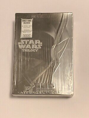 Star Wars Original Trilogy IV, V, VI Collectors Edition DVD Boxed Set 4 Discs