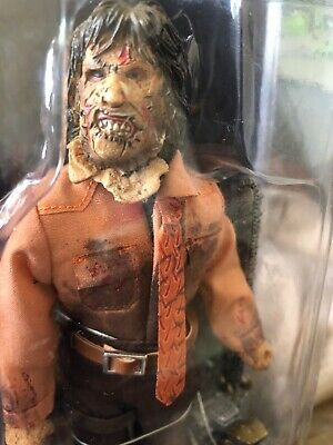 "NECA TEXAS CHAINSAW MASSACRE 3 LEATHERFACE RETRO CLOTHED 8"" inch FIGURE / DOLL"