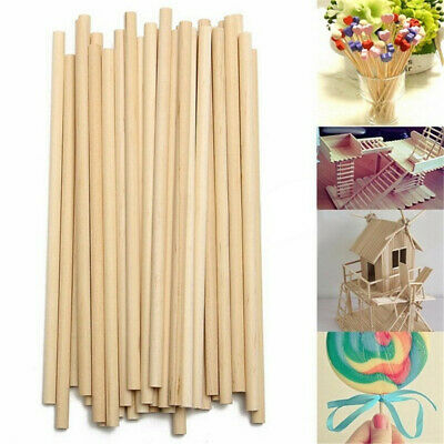 50/100pcs counting stick Wooden diy craft Educational Toys Building Model New