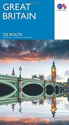 OS Route Map    Route Map by Ordnance Survey Book The Cheap Fast Free Post