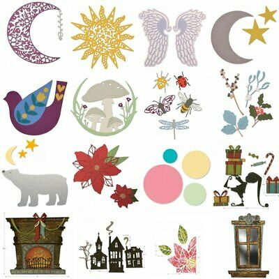 Animals Frame Presents Mixed  Metal Cutting Dies Stencil Scrapbooking Embossing