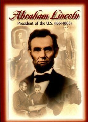 Picture Postcard- Abraham Lincoln-President Of United States (1861-1865)  Bk16