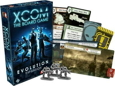 XCOM Evolution Expansion Board Game - Fantasy Flight Games Free Shipping!