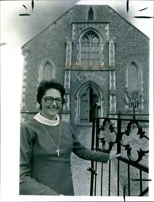 Portrait of Rev. Elsie Mayes - Vintage photo