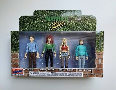 Funko Married With Children Action Figures 4 Pack NYCC 2018 Exclusive Sticker