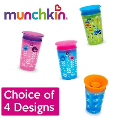 Munchkin Miracle 360° Sippy Cup - Boys/Girls CHOiCE OF DESIGN (A16)