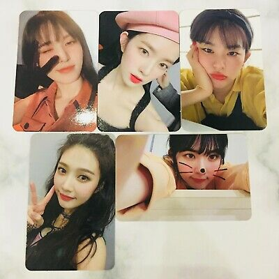 Red Velvet The Reve Festival Day 1 +Bad Boy Photocard From Kihno Kit (Only Card)