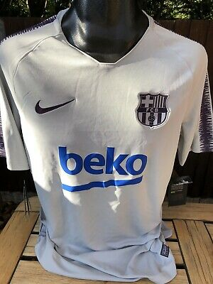Nike Barcelona Away Shirt Training Top 3rd Kit Size XL Spain Barca Brand New