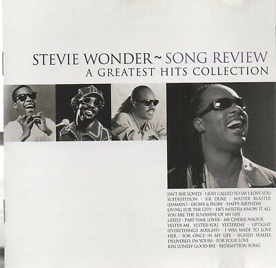 STEVIE WONDER - Song review - A greatest hits collection - CD album