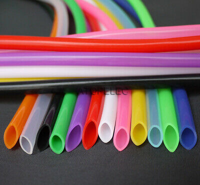 1-5M 5*8 Flexible Soft Silicone Tube Pipe ID_5mm OD_8mm Food Grade Hose