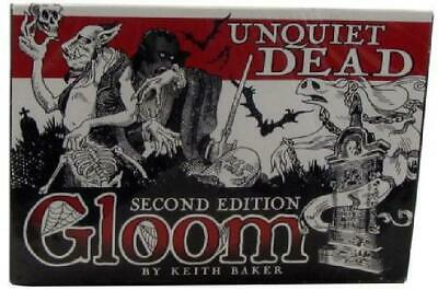Unquiet Dead Second Edition Gloom NM TD2