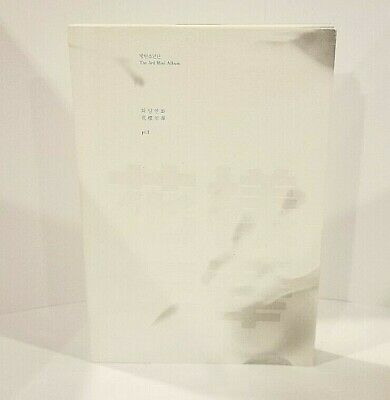 BTS the most beautiful moment in life pt 1 WHITE Ver. Album + Photocard