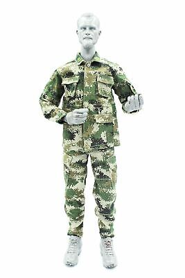 1/6 scale toy Chinese PLA - Machine Gunner - Type 07 Camo Uniform Set