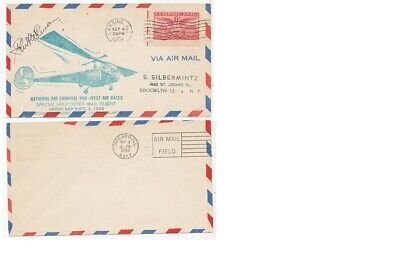 Timbre  Avion Aviation Usa Etats-Unis Special Helicopter Mail Labor Day 1950
