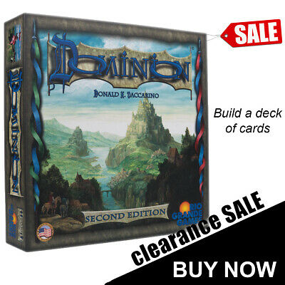 Brand New Dominion 2nd Second Edition Board Game Card Games