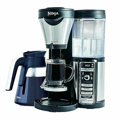 Ninja Hot/Iced Coffee Maker Auto-iQ Milk Frother Carafe (Certified Refurbished)