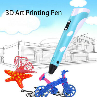 3D Printing Pen 2nd Crafting Doodle Drawing Arts Printer Modeling PLA