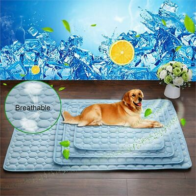 Summer Cooling Mats Blanket Ice Pet Dog Bed Mats For Dogs Cats Sofa Portable