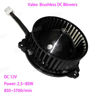 VALEO DC 12V Brushless Blower PWM High Power Low Noise Brushless Turbine Fan CCW