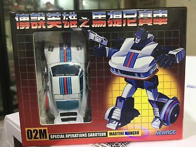 NewAge Toys Transformers Mini Warrior Heroes 02 H02M Manero Figure In Stock