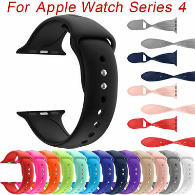 Silicone Band Sport Soft Strap for Watch iWatch Series 2 3 4 38/40-42/44mm