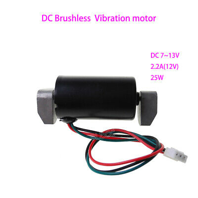 DC 12V Brushless Vibration Motor BLDC 25W PWM Vibrating Motor Dual Ball Bearings