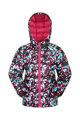 Mountain Warehouse Printed Seasons Girls Padded Jacket with Two Front Pockets