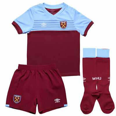 West Ham United Home Official Infant Mini Kit 2019/20