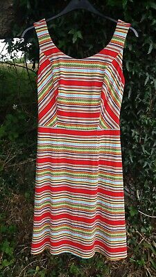 Ex Pepperberry Sz 12 RC Lined Aztec Fit /& Flare Tunic Tea Dress Summer