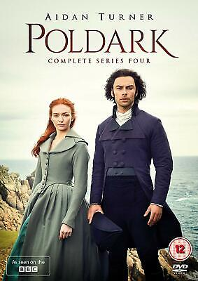 Poldark Series 4 [2018] New DVD Box Set / Free Delivery