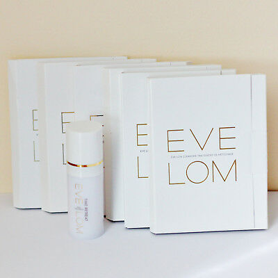 Eve Lom  Lot Time Retreat + 6 Cleanser and Muslin Cloths New