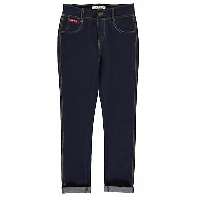Lee Cooper Denim Jeggings Youngster Girls Leggings Pants Trousers Bottoms