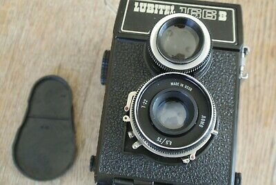 Lomo Lubitel 166B TLR  Camera  VERY NICE WORKING 3