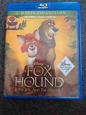 The Fox And The Hound & Movie 2/ 2-Movie Collection Blue-Ray + DVD + Digital