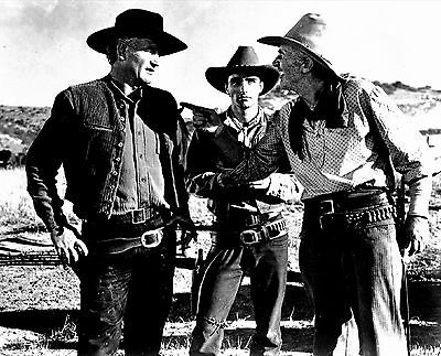 Rare Still John Wayne Cast  Filming Red River