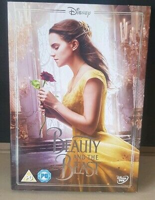 Disney Beauty and the Beast (Live Action) DVD With Ltd Edition Sleeve (O Ring)