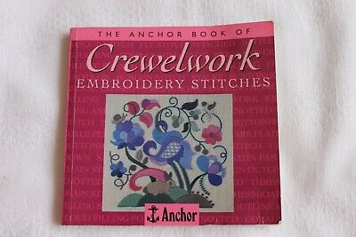 Anchor Crewelwork embroidery stitches