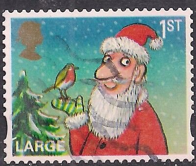 GB 2012 QE2 1st Class Christmas Large Letter used stamp SG 3419  ( F1020 )