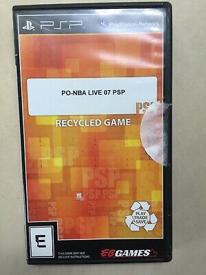 ~TESTED Good~ Sony Playstation Portable PSP NBA Live 07 Fast Shipping Canada
