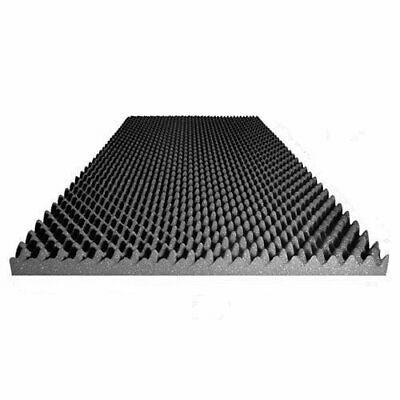 "3"" Acoustic Foam Egg Crate Panel Studio Foam Wall Panel 48"" X 24"" X 3"" Recording"