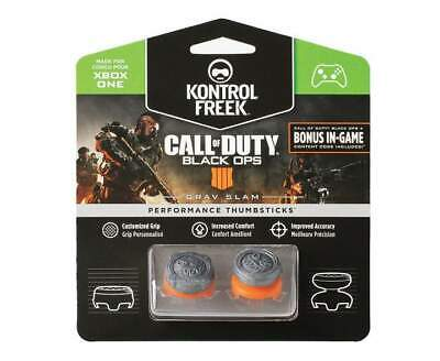New KontrolFreek CoD: Black Ops 4 Grav Slam Performance Thumbsticks Xbox One