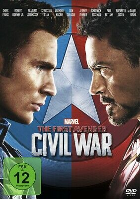 Anthony Russo - The First Avenger: Civil War, 1 DVD