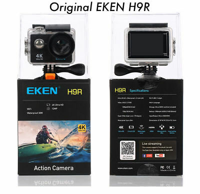 Original EKEN H9R 1080P WiFi 4K Sport Action Camera Waterproof Travel Camcorder