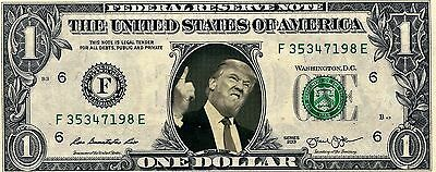 Donald Trump US$1 Bank Bill  Impeachment for the 45th President of the USA?