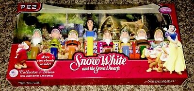 Snow White And The Seven Dwarfs Pez Limited Edition Gift Set Collector's Series