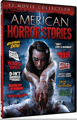 American Horror Stories: 12 Movie Collection (3 DVD Set) **New**