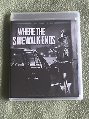 Free*Postage New Where The Sidewalk Ends Blu-Ray Otto Preminger Tierney Andrews
